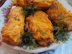 филе пангасиуса в картофеле