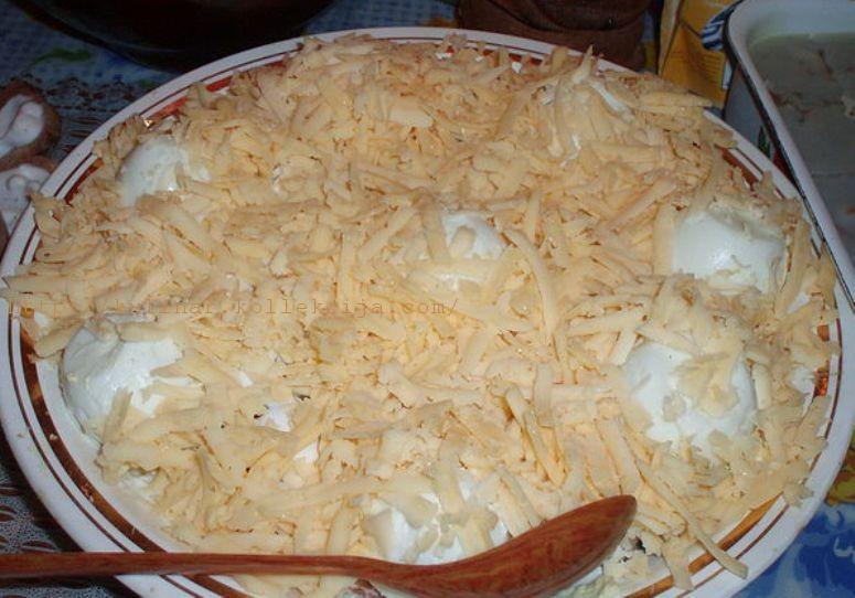 салат Снежные горки
