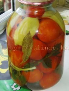 помидоры с сельдереем на зиму