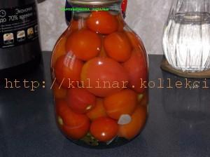 маринованные помидоры быстрого приготовления - рецепт
