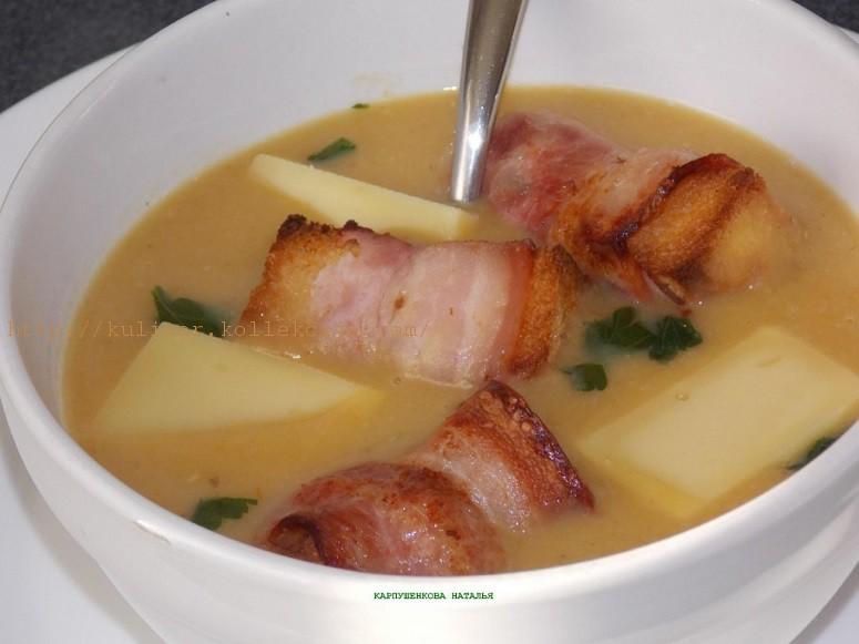 Суп пюре с чечевицей