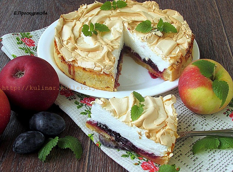 Тарт с фруктами