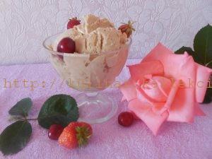 Мороженое карамельное